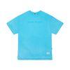 V COLORS OVERSIZED T-SHIRTS BLUE