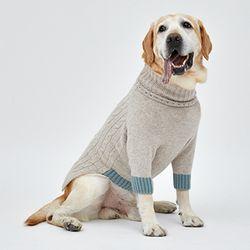 Oatmeal Cashmere Knit - L 2L 3L Size