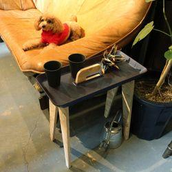 아이데코 사이드 테이블 Tiny Walk - 브라운