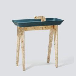 아이데코 사이드 테이블 Tiny Walk - 네이비