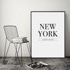 뉴욕 타이포 액자 레터링 A3 포스터