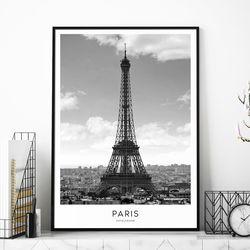 파리 에펠탑 액자 인테리어 A3 포스터