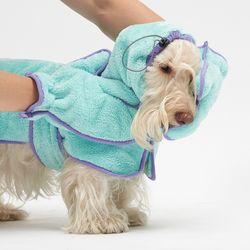 Blueberry Shower Gown SET - L 2L 3L Size