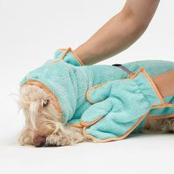 Tangerine Shower Gown SET - L 2L 3L Size