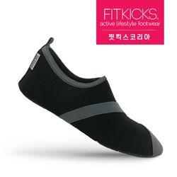 여성 클래식 슬립온 스니커즈 운동화 블랙