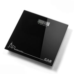 블루블랙 디지털 체중계 HE-200
