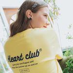 [클리어런스] Heart Logo Point Top