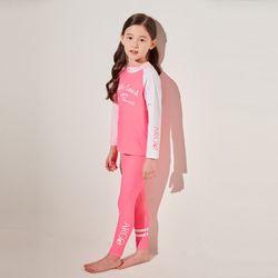 키즈 퍼시픽(핑크) 레깅스 세트