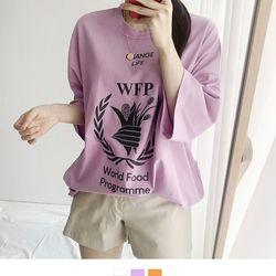 WFP 박스 오버핏 반팔티