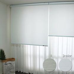 친환경 바이오 루디 항균방염 롤스크린(125x180cm)2color