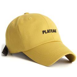 19 JW PLATEAU CAP YELLOW