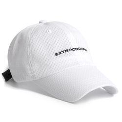 19 EX MESH CAP WHITE