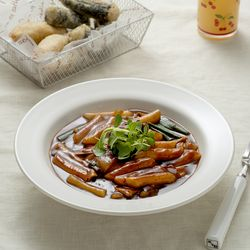 제이키친 야채 떡볶이 짜장밀떡