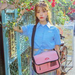 데이라이프 메일 메신저백 (핑크)