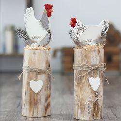 빈티지 우드 닭 2P세트