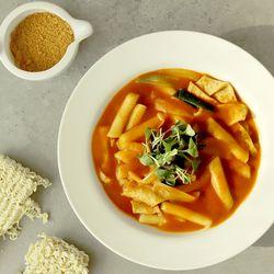 제이키친 야채 떡볶이 매운카레 밀떡