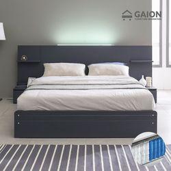 팅클 LED 서랍형 침대 Q 7존 포켓매트리스