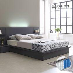 팅클 LED 평상형 침대 Q 7존 포켓매트리스