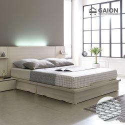 팅클 LED 평상서랍형 침대 Q 본넬매트리스