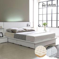 팅클 LED 평상서랍형 침대 Q 볼라텍스포켓50T