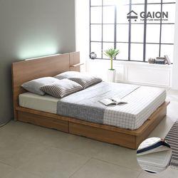 팅클 LED 평상서랍형 침대 Q CL 투인스 매트리스