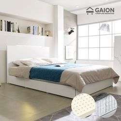 팅클 LED 멀티서랍 침대 Q 라텍스포켓20T