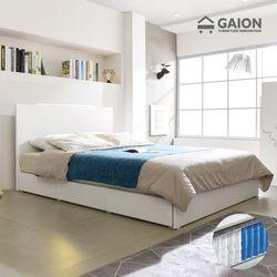팅클 LED 멀티서랍 침대 Q 7존 포켓매트리스