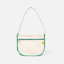 DAL DAL CROSS BAG Ecru-green