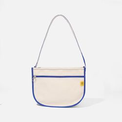 DAL DAL CROSS BAG Ecru-blue
