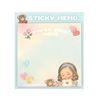 Paper doll mate Square Sticky memo Alice