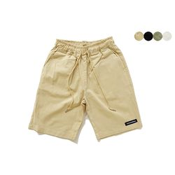 CREASE COTTON BANDING SHORTS(4color)(unisex)