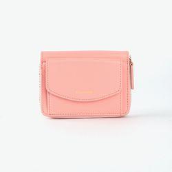 REIMS W016 Zipper poket Wallet Apricot Blush