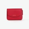 REIMS W016 Zipper poket Wallet Cherry Red