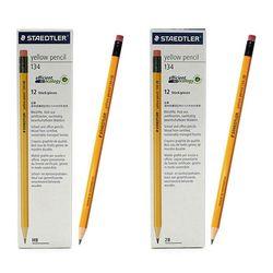 스테들러 옐로우연필 134 1다스 12자루 고급연필세트