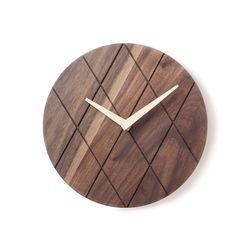 월넛라인벽시계