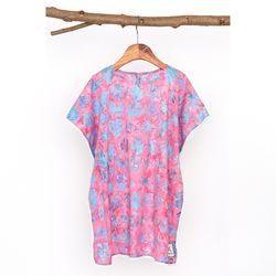 [Kids Poncho] Balibloom - Pink
