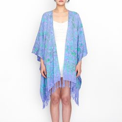 [Fringe Robe] Dahlia - Lavender
