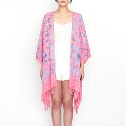 [Fringe Robe] Balibloom - Pink