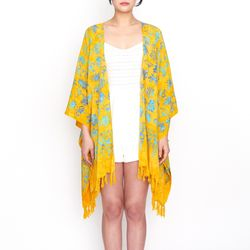 [Fringe Robe] Balibloom - Yellow