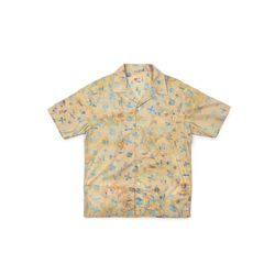 [Matt And Mel x M.Nii] Hand Dyed Aloha Shirts Beige