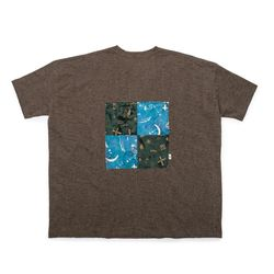 [Matt And Mel x M.Nii] Handcrafted T-Shirt  Brown