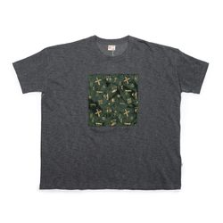 [Matt And Mel x M.Nii] Handcrafted T-Shirt  Charcoal