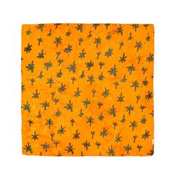 [Voil Scarf] Palm Trees - Amber