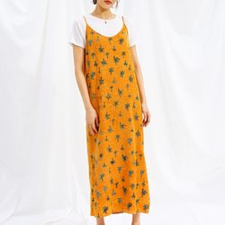 [Slip Dress] Palmtree - Amber