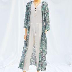 [Robe Dress] Dahlia - Gray