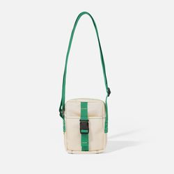 POKI POCKET BAG Ecru-green
