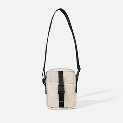 POKI POCKET BAG Ecru-black