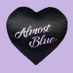 ALMOSTBLUE HEART CUSHION