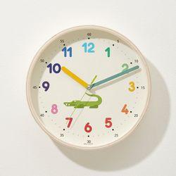 [무료배송] 무소음 숫자공부 아동용 벽시계