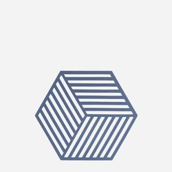 존덴마크 존 헥사곤 팟홀더 실리콘 냄비받침 - 데님